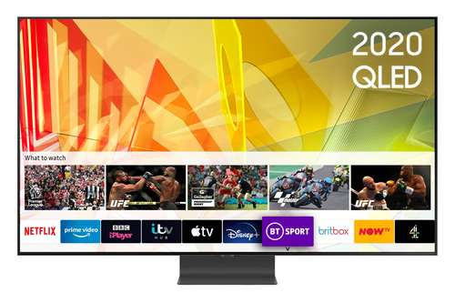 Samsung QE65Q95T (2020) 65 inch Flagship QLED 4K HDR 2000 Smart TV with Tizen OS