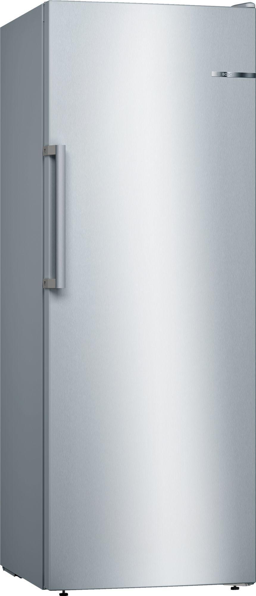 Image of Serie 4 GSN29VLEP 60cm 200 Litre Frost Free Single Door Freezer | Silver Innox