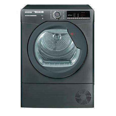 Image of HLXC8TRGR 8kg Condenser Tumble Dryer - Graphite