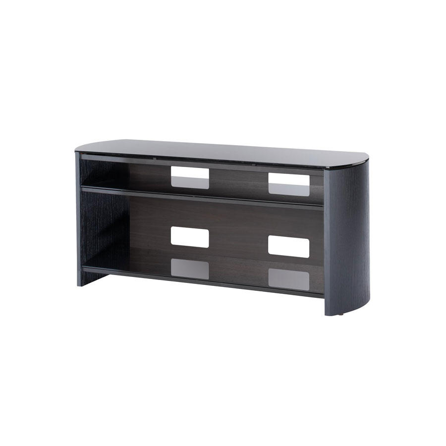 FW1100B BLACK FINEWOODS TV STAND