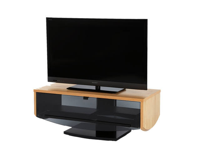 Off The Wall ECLIPSE 1000 OAK TV STAND
