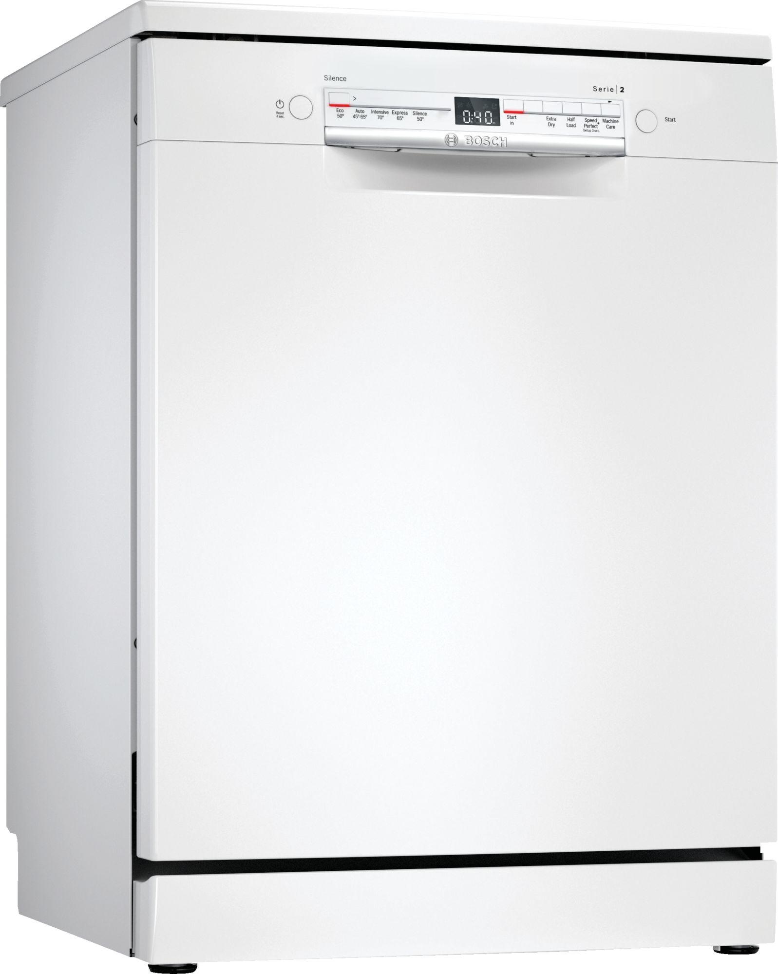 Image of Serie 2 SGS2HKW66G 60cm Standard Dishwasher | White