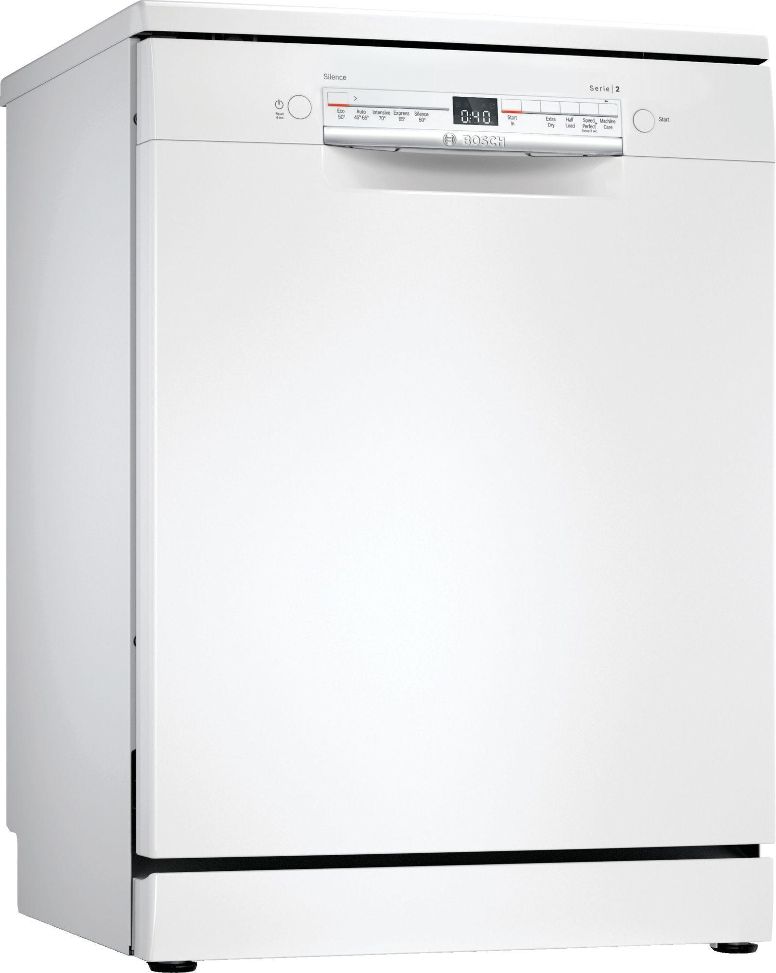 Image of Serie 2 SGS2HVW66G 60cm Standard Dishwasher | White