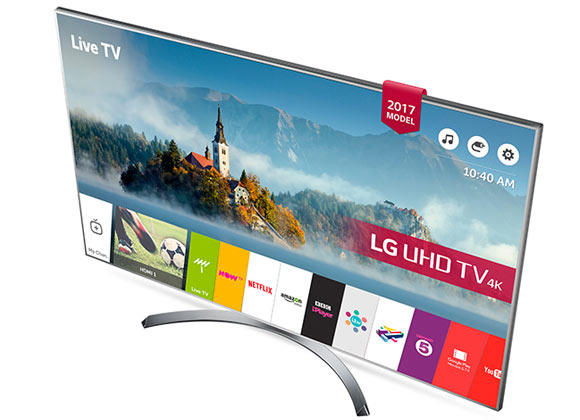 "LG 49UJ750V 49"" 4K HDR Ultra HD Smart LED TV"