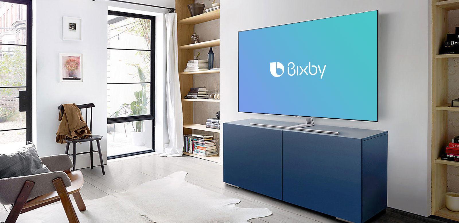 Samsung QLED Smart TVs & Bixby Assistant