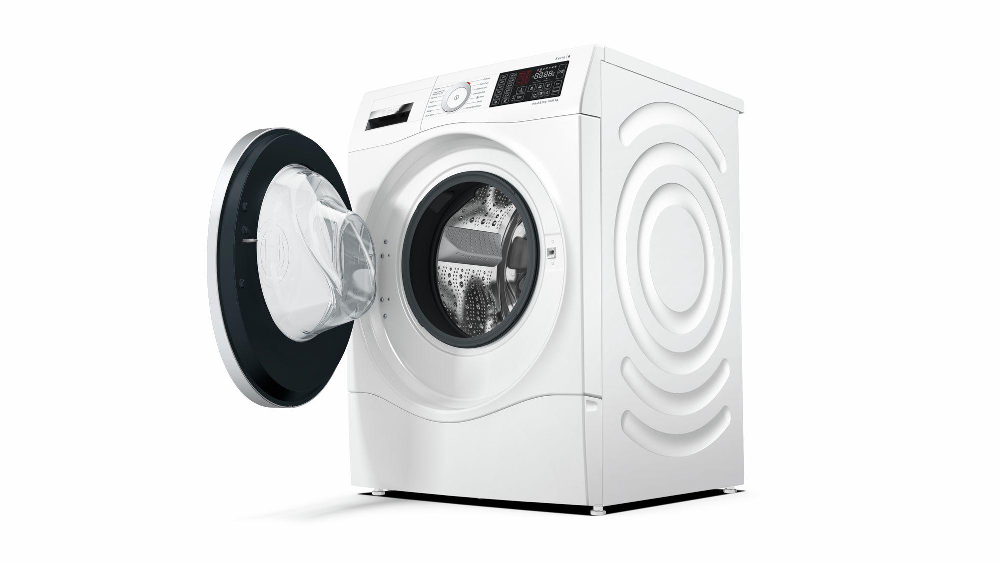 Bosch Serie 6 WDU28560GB 10Kg Wash 6Kg Dry 1400 Spin A Rated Washer Dryer | White