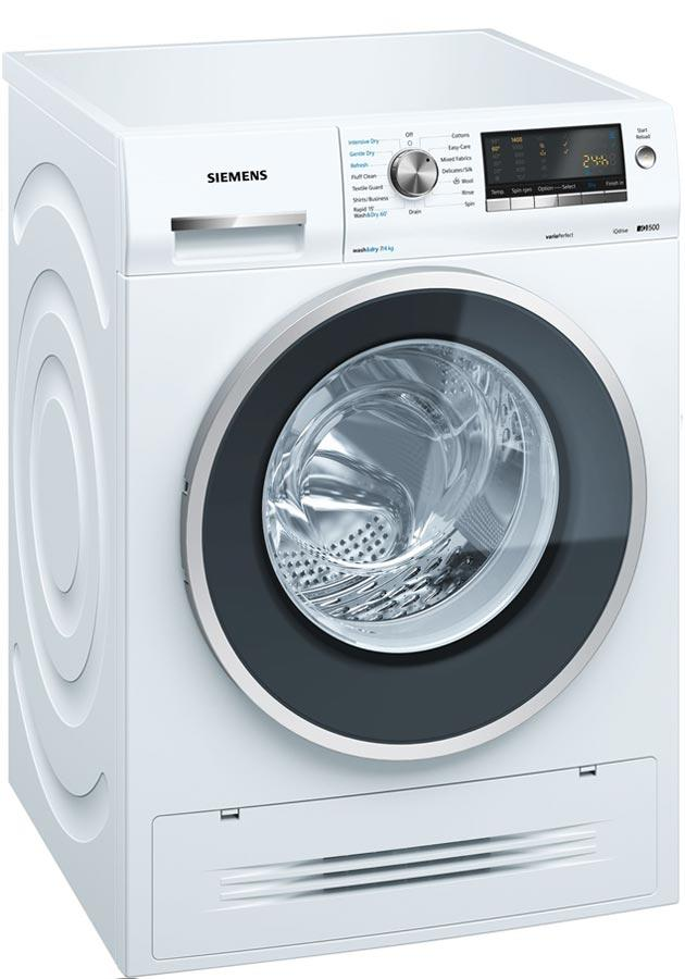Siemens iQ500 WD14H422GB 7Kg / 4Kg 1400 Spin Washer Dryer - White