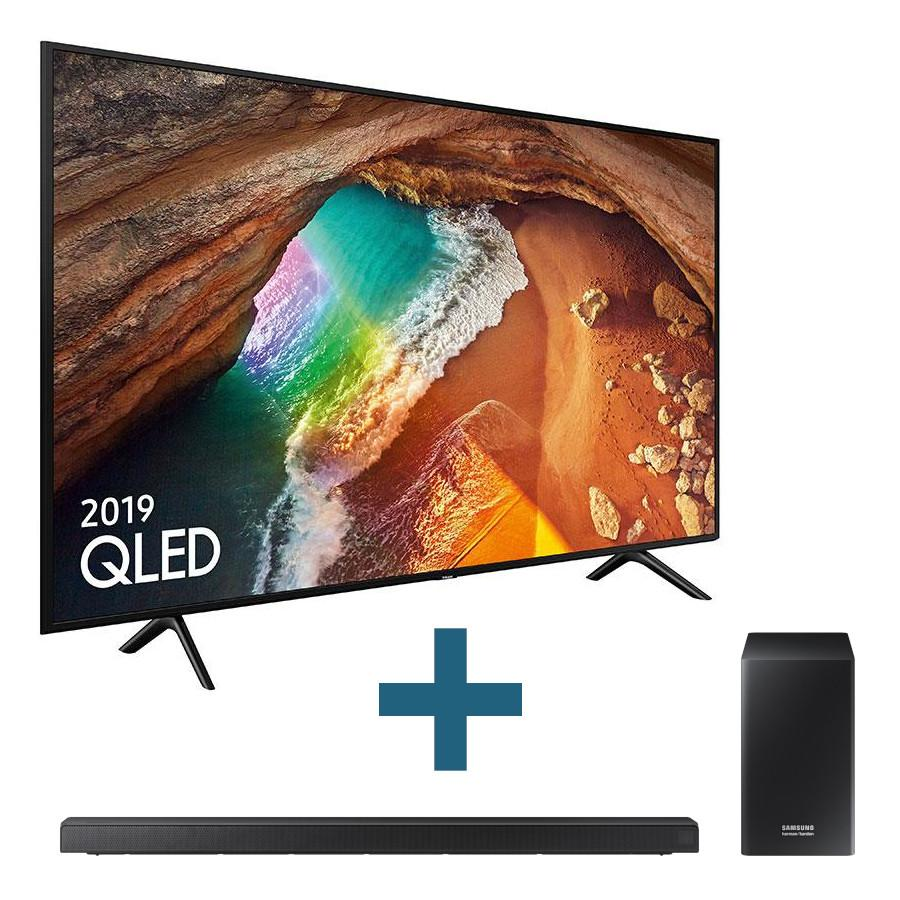 Bundle: QE82Q60R TV + HW-Q60R Soundbar
