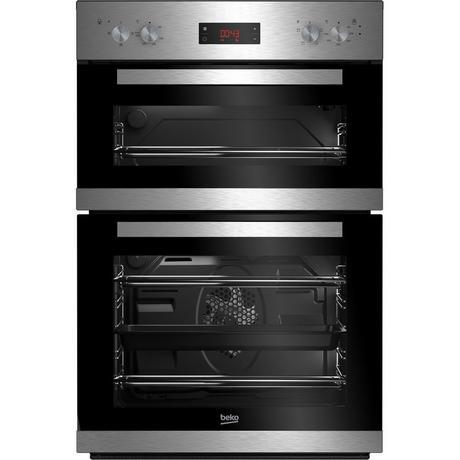Beko CDF22309X Built In Electric Double Oven