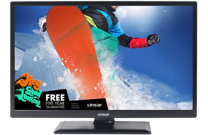 Linsar 24LED1700 (2019) 24 inch Freeview Play Smart LED TV