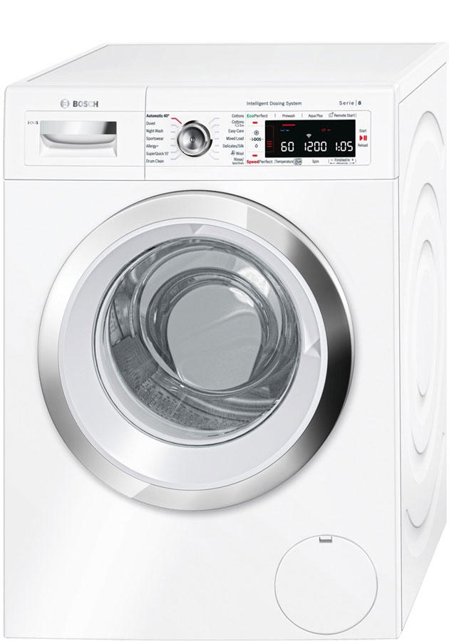 bosch wawh8660gb serie 8 i dos home connect 9kg washing machine. Black Bedroom Furniture Sets. Home Design Ideas