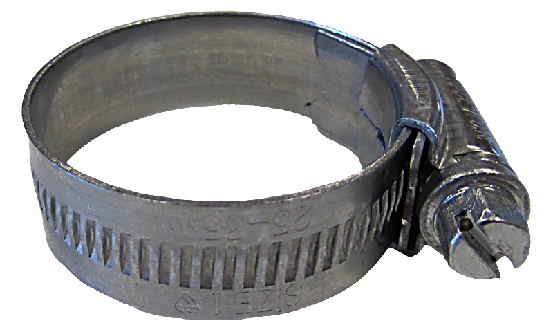 Jubilee  Clips  -  Zinc  Plated  Steel