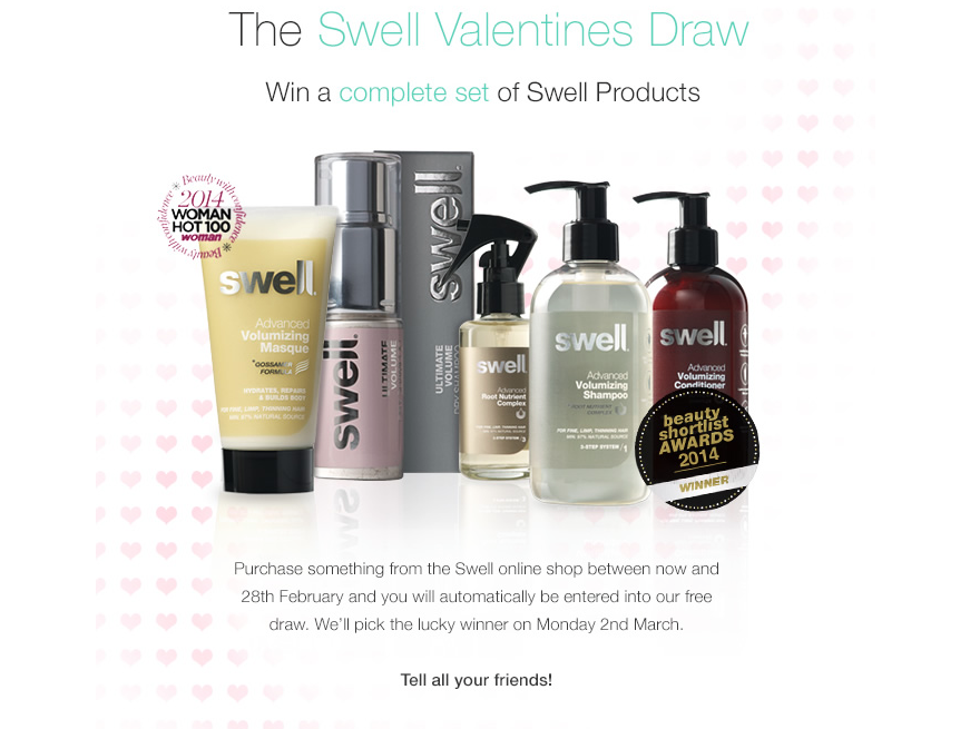 WIN A COMPLETE SET OF SWELL PRODUCTS