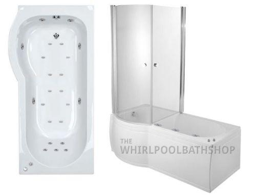 Moods Luxury Fully Enclosed 23 Jet Shower Bath Description - Left Hand