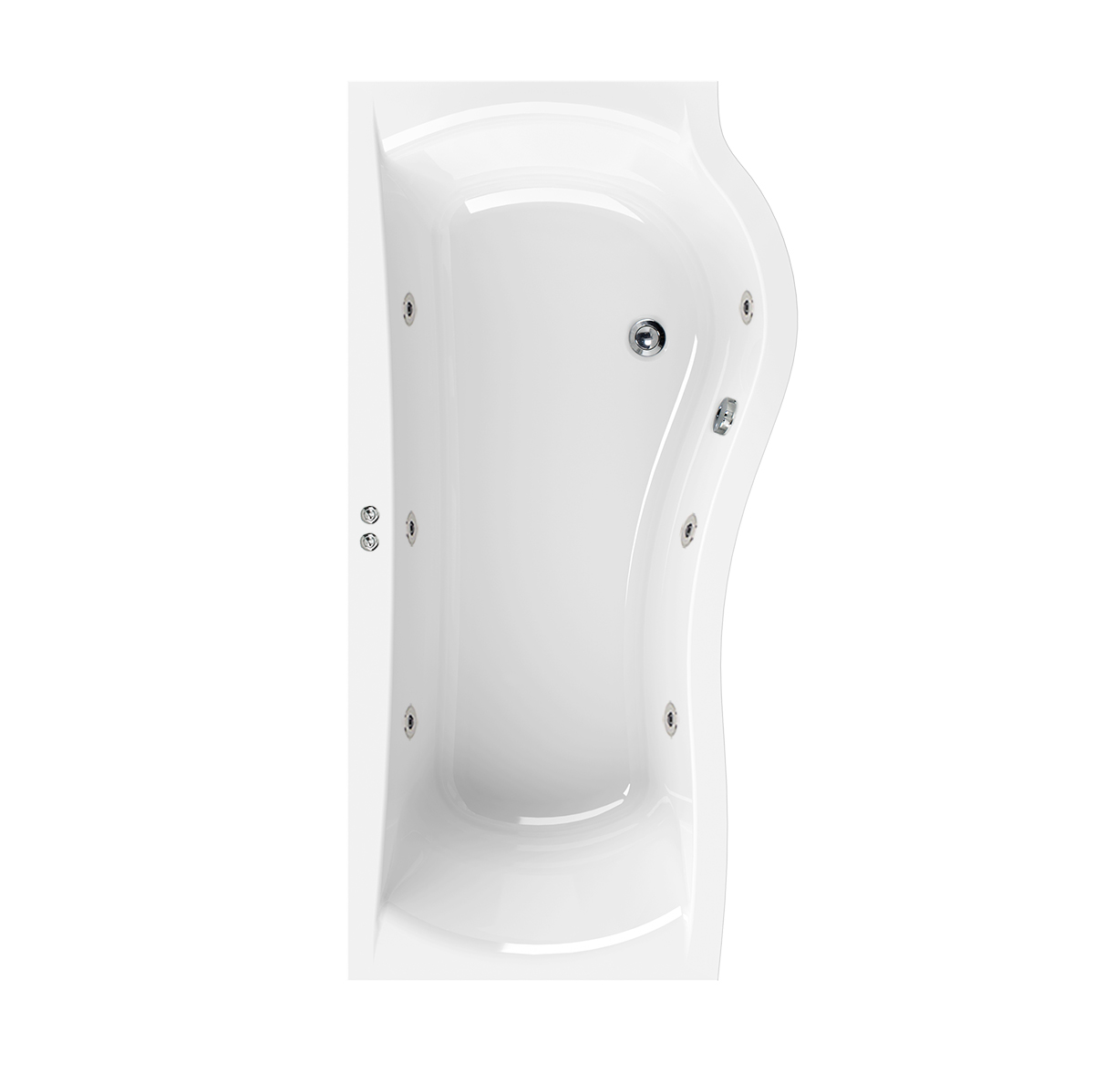 Aquaestil Da Vinci RH 6 Jet Whirlpool Shower Bath