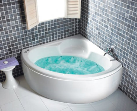 4 Unique Benefits of a Corner Whirlpool Bath