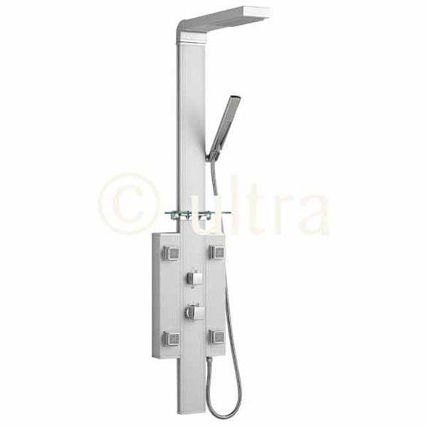 Ultra Cube Thermostatic Shower Tower AP395