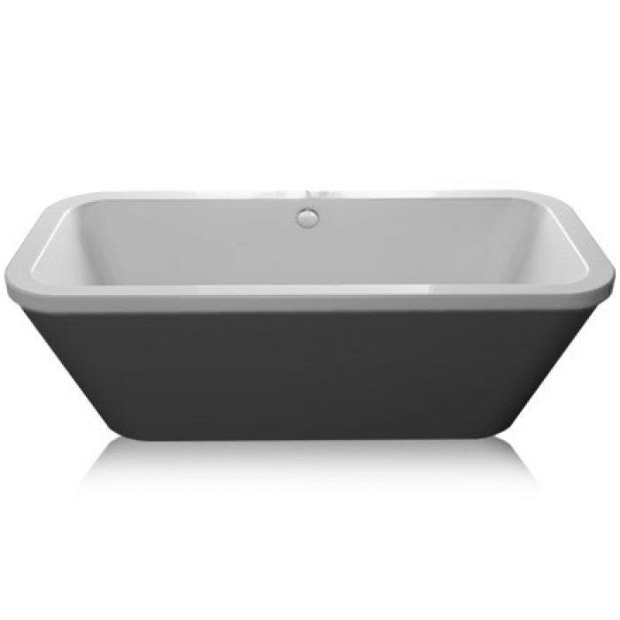 Carron Halcyon Square Black Freestanding Bath 23.3224