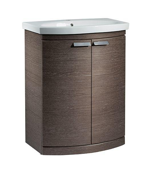 Tavistock Tempo 650mm Dark Java Freestanding Vanity Unit & Basin