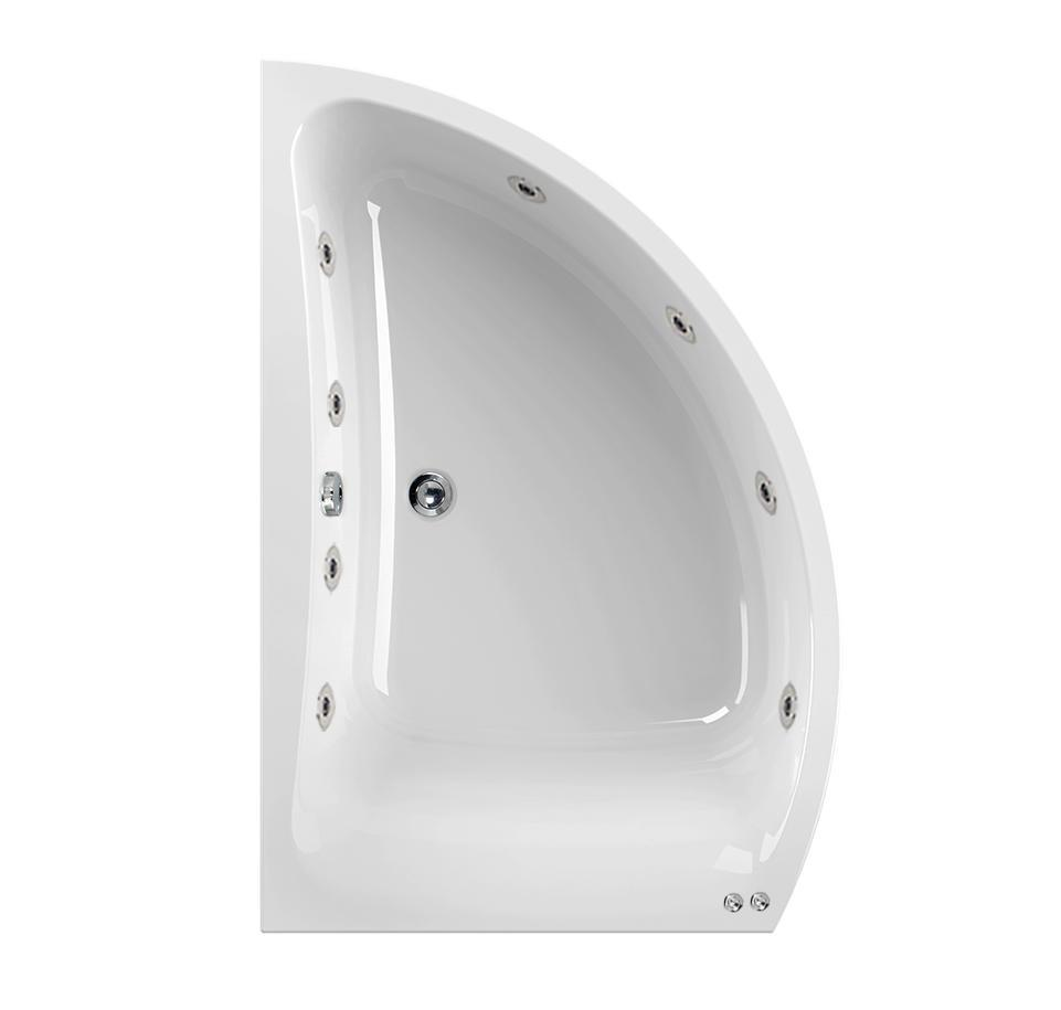 Left Hand Aquamaxx Comet 8 Jet Whirlpool Bath