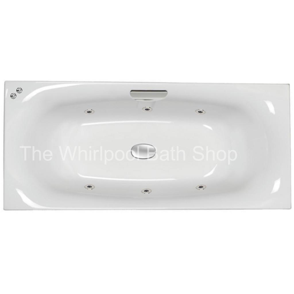 6 jet Carron Echelon 1800 x 800 mm Whirlpool Bath