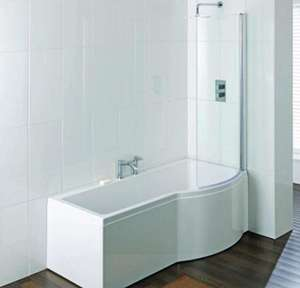 Brio shower bath right hand