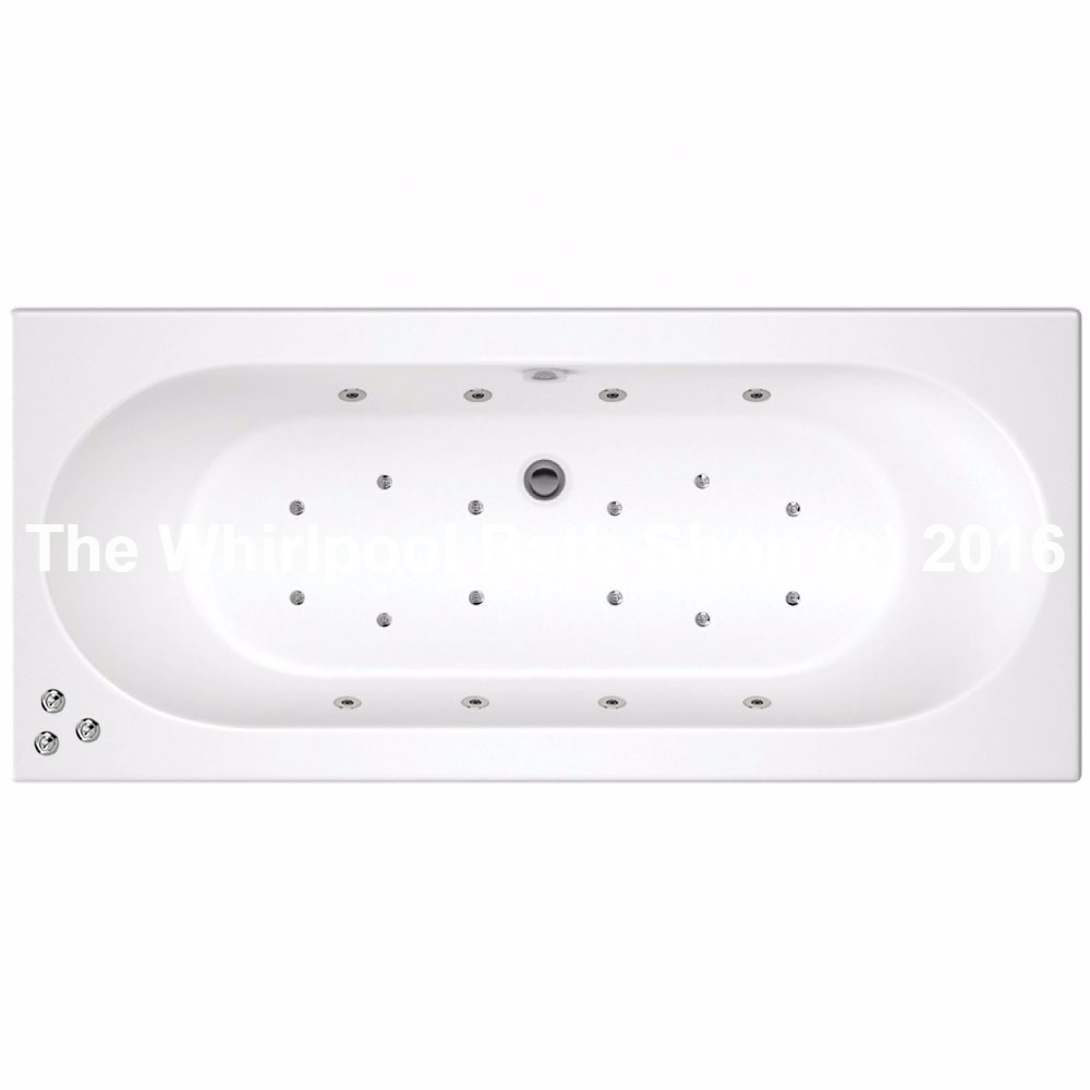 20 Jet Trojan Cascade Double Ended Bath