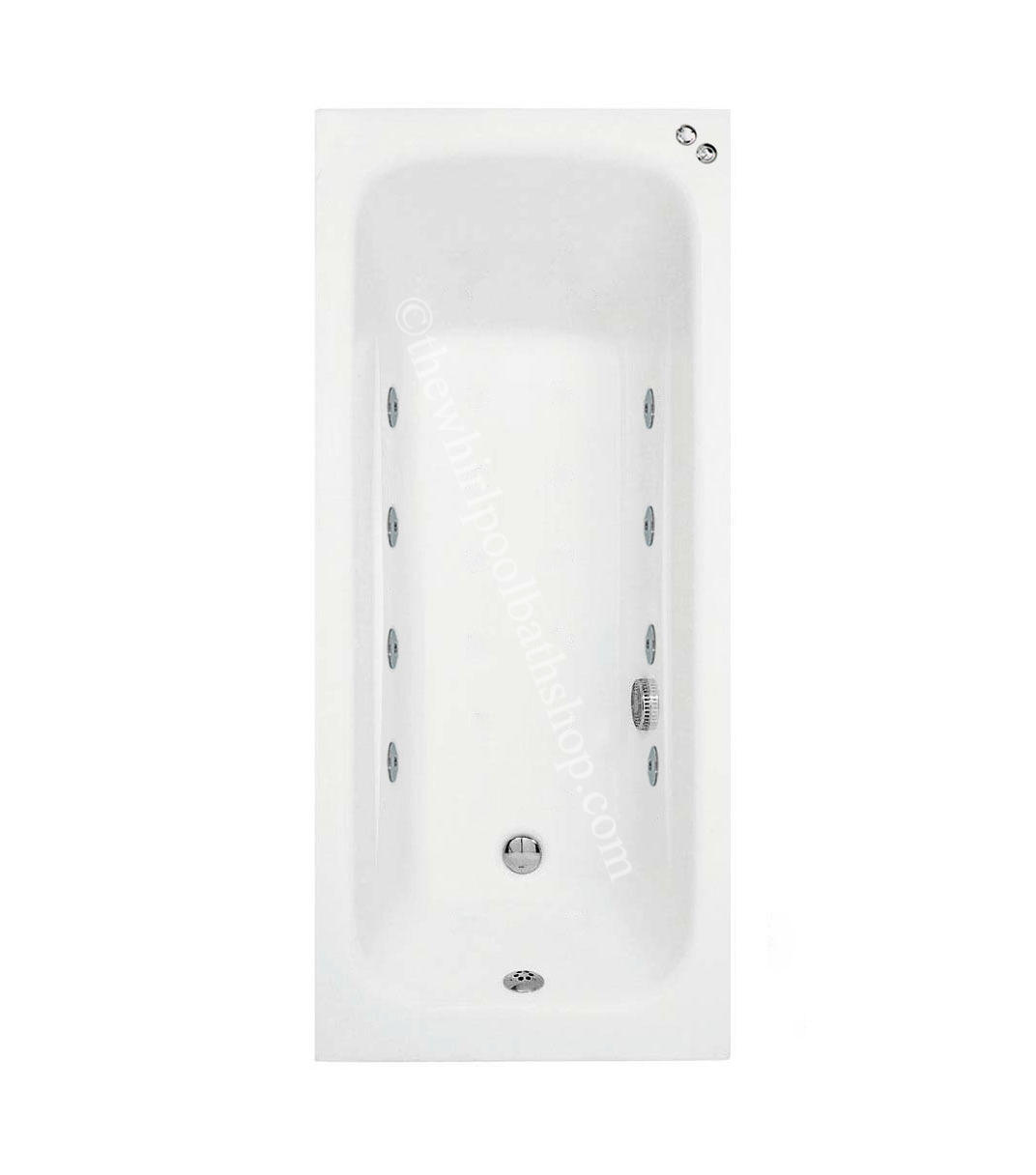 1600 mm Phoenix Crystal 8 jet Whirlpool Bath