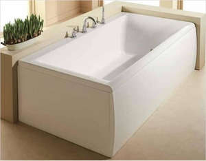 White Whirlpool Bath Panels   Bathrooms   Replacement