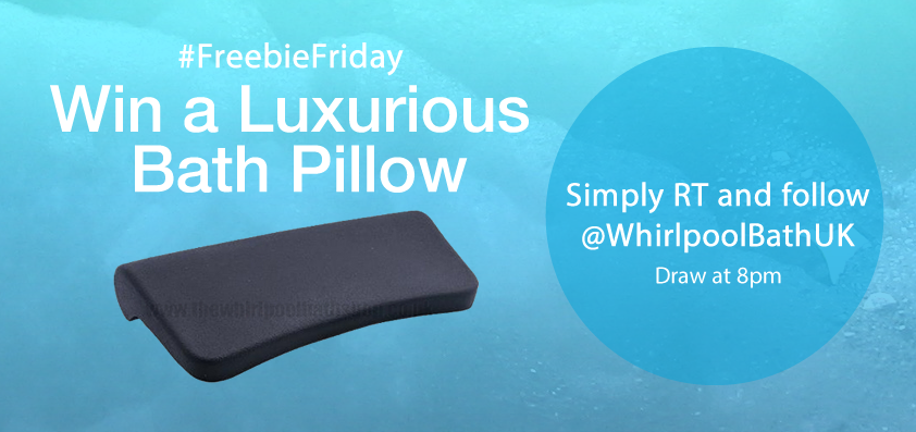 #FreebieFriday Win a luxurious Bath Pillow