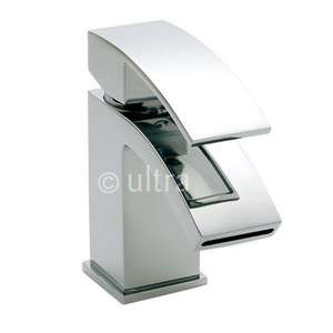 Ultra Vibe Single Lever Mini Mono Basin Mixer Tap VIB315