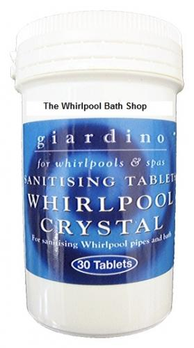 30 Whirlpool Spa Jacuzzi Bath Sanitising Tablets
