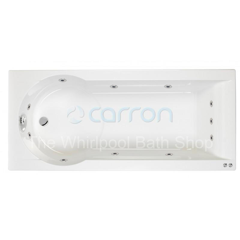 Carron Zone 11 jet Whirlpool Shower Bath