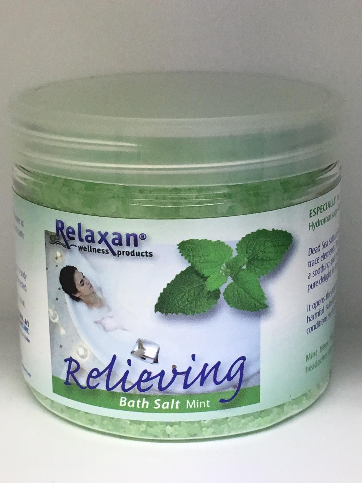 Relieving Mint Dead Sea Bath Salts for Whirlpool & Jacuzzi Baths