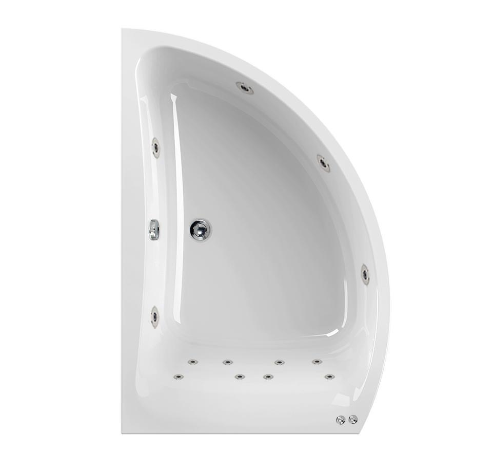 Left Hand Aquamaxx Comet 14 Jet Whirlpool Bath