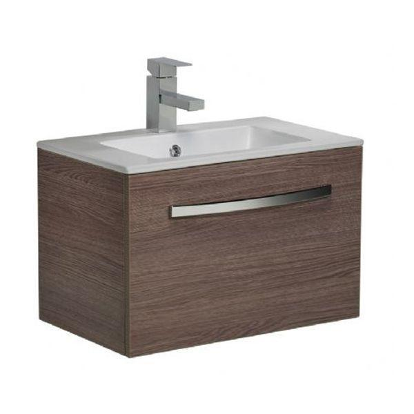 Tavistock Swift 600mm Montana Gloss Wall Mounted Vanity Unit & B