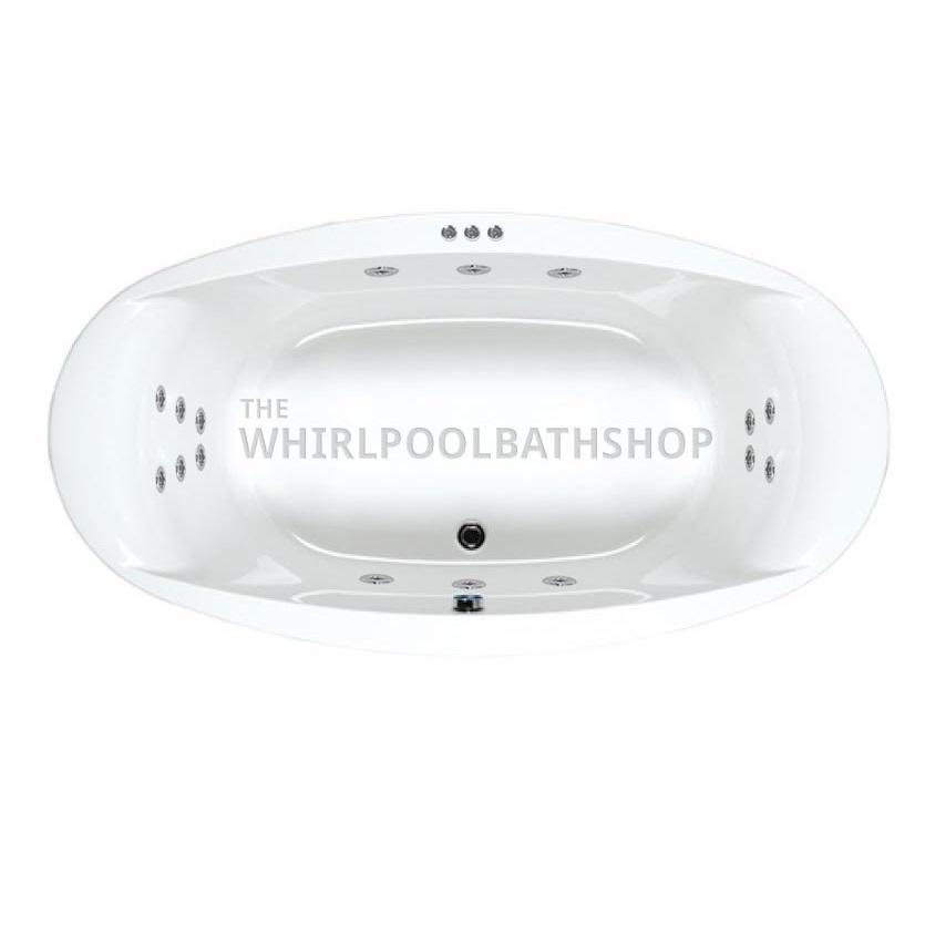 Carron Celsius Oval Whirlpool Bath
