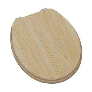 Moods Contemporary Wood Effect Oak Soft Close Toilet Seat
