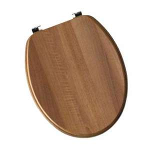 Moods Contemporary Wood Effect Walnut Soft Close Toilet Seat