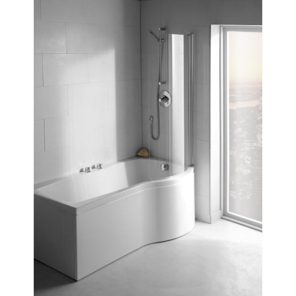 Carron Delta Bath Screen C Shape Screen 6 mm 69.0140 RH