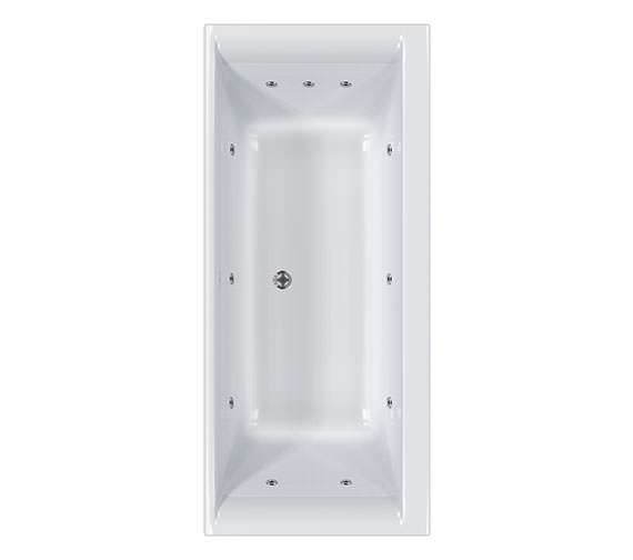 Carron Haiku 1800 x 900 Duo 11 Jet Bath