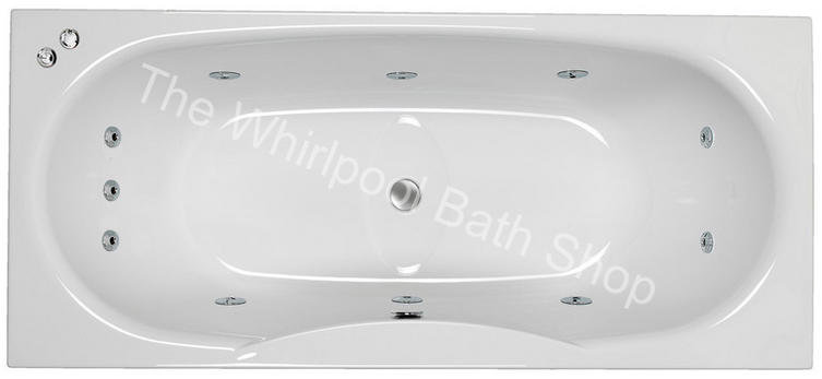 Carron Equation 1800 mm 11 Jet Whirlpool Bath
