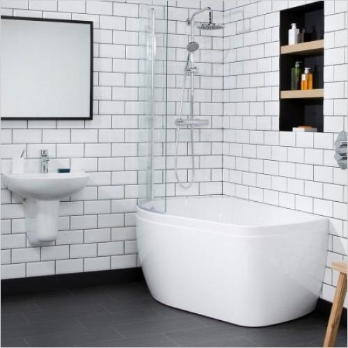 Carron profile shower bath