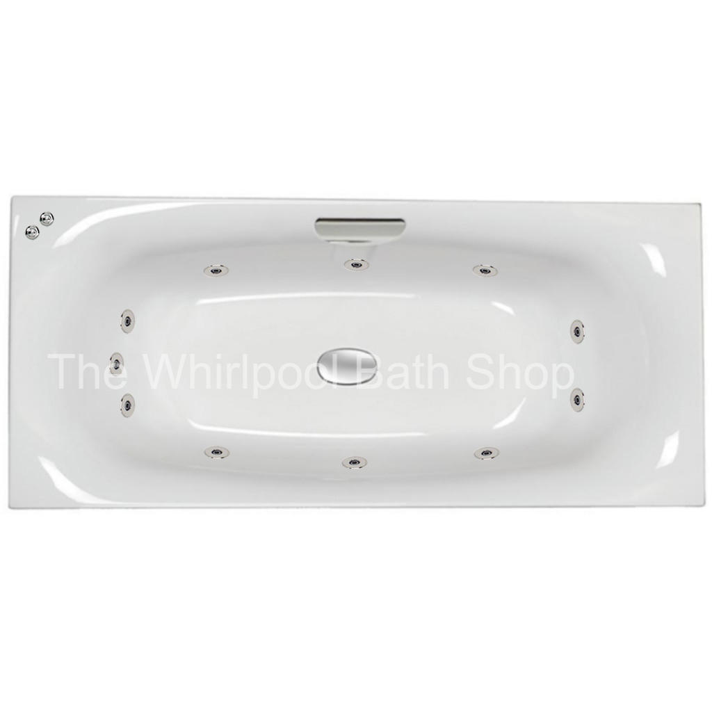 11 jet Carron Echelon 1800 x 800 mm Whirlpool Bath