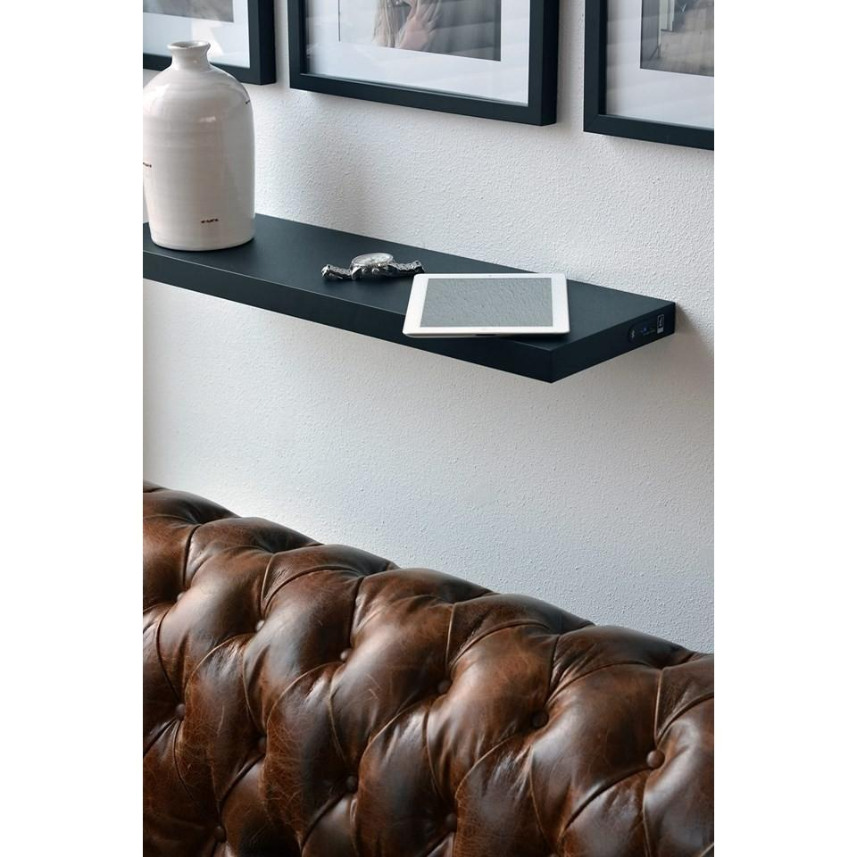 Bluetooth speaker shelf