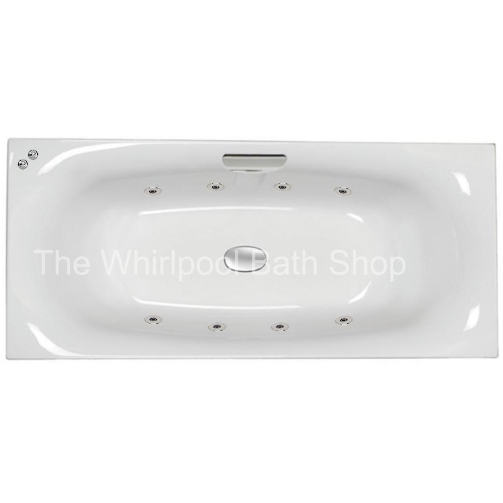 Carron 8 Jet Echelon 1700 x 750 mm Whirlpool Bath