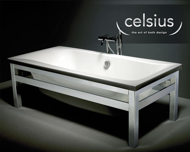 Carron Celsius Framed Freestanding Bath