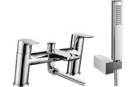 Pisa Chrome Bath Shower Mixer