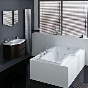 Ceres 12 Jet Whirlpool Bath