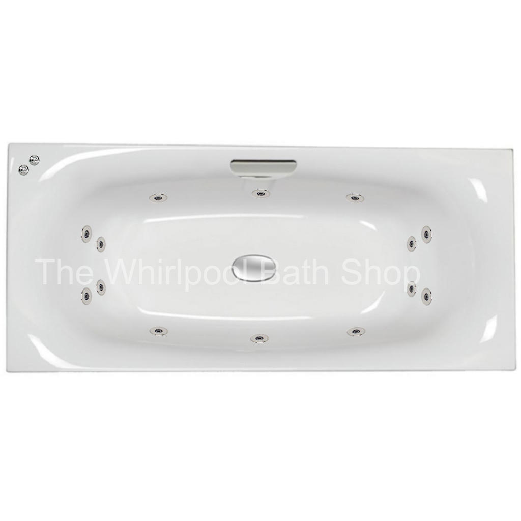 14 jet Carron Echelon 1800 x 800 mm Whirlpool Bath